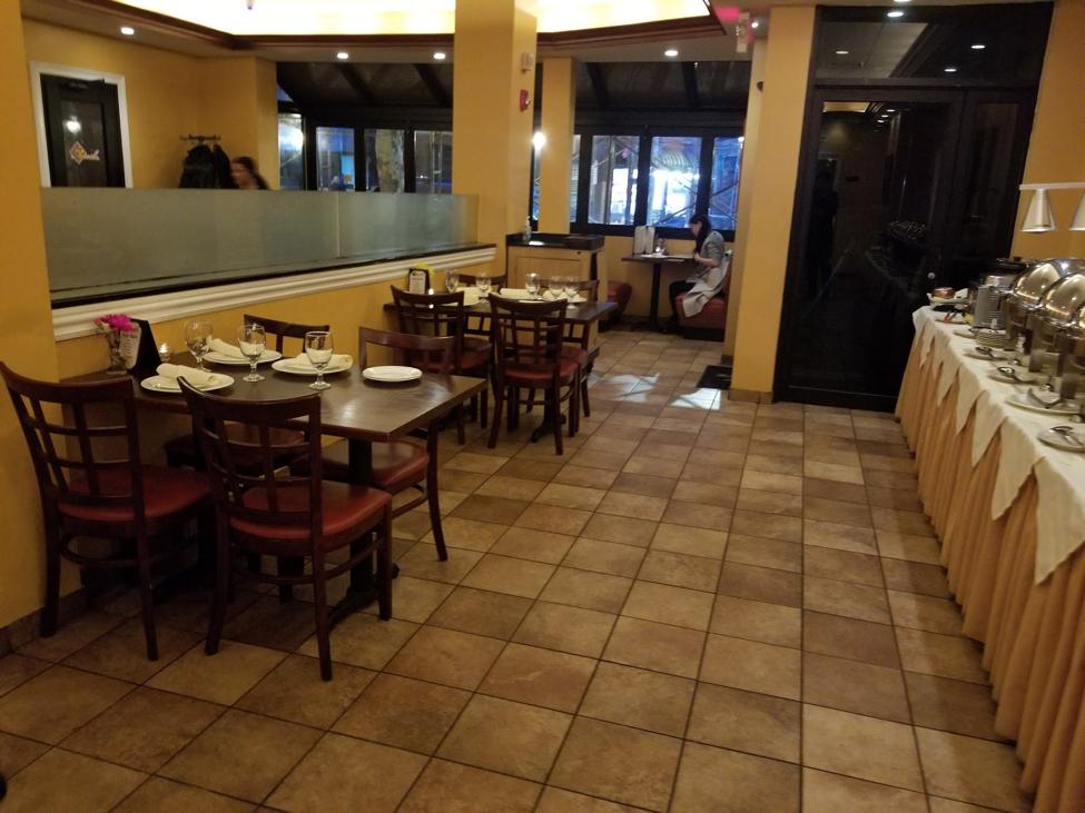 Masala Restaurant Interior