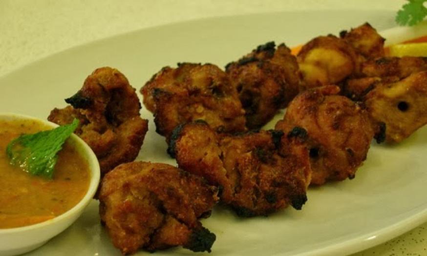 Nepali Food - Chicken Sekuwa