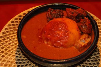 Banga African food