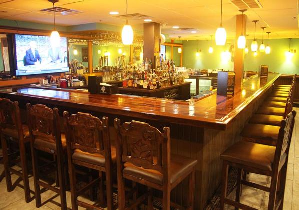 The bar at Cazadores