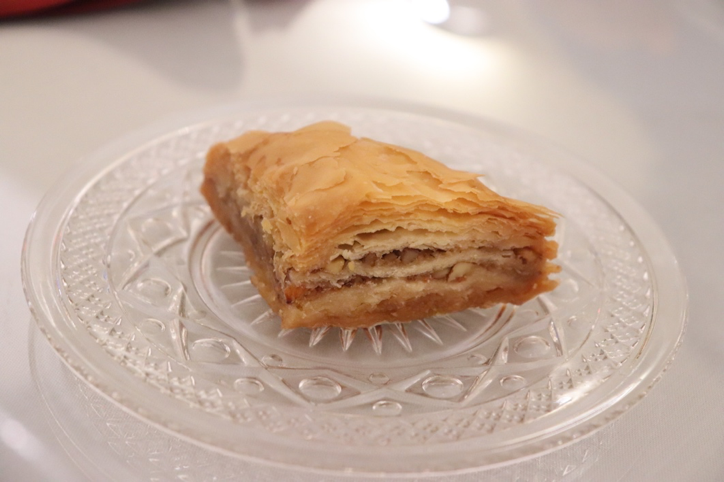 Baklava, a popular sweet North African dessert